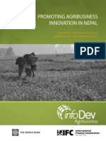 Promoting Agribusiness Innovation in Nepal - Full Study
