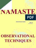 Observational Techniques