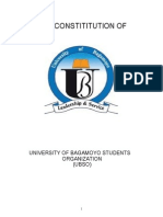 The Constitution of the University of Bagamoyo