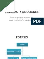 mezcla y disoluciones vea este documento gratis en www.cuidarenfermeria.com