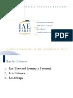 «Forward, Futures et Swaps»_D. Bourghelle_Juin 2012