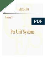 3-Per Unit System