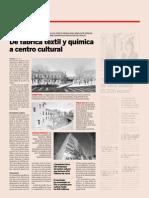 20140314 Expansion - De fábrica téxtil y química a centro cultural