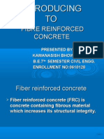 FIBRE REINFORCE CONCRETE