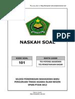 7. Soal TPA SPMB PTAIN 2012 Kumpulan Soal.com 39 41