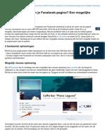 Likeconomics.nl-naam Aanpassen Van Je Facebookpagina Een Mogelijke Oplossing