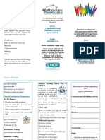 Gateway Training & Education Opportunities Leaflet 2014