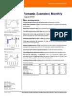 Romania Economic Monthly
