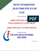 Etat Financier 2010