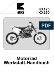 Manual Despiece y Componenetes Kawasaki Kx 125 y 250