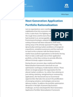Consulting Whitepaper Next Generation Application Portfolio Rationalization 09 2011