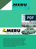 Services 1 - Meru Cabs