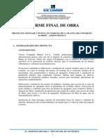 1.- Informe Final de Obra - PCA