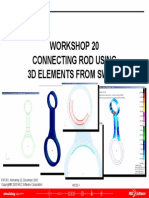 Workshop 20 Connecting Rod Using 3d Elements From Sweep