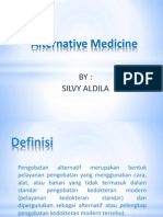 Silvy Aldila_Alternatif Medicine