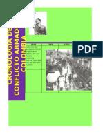 30728045 Cronologia Del Conflicto Armado en Colombia