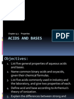 Chapter15 1 Acids and Bases