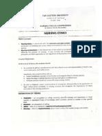 Nursing Ethics and Jurisprudence - URSULA edition