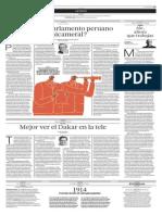 Por qué el Parlamento peruano es unicameral