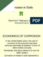 Corrosion in Soils