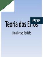 Teoria dos Erros - Revisão.pdf