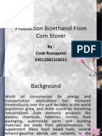 Production Bioethanol From Corn Stover