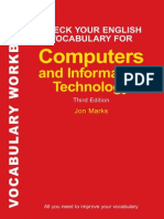 Check en Vocabulary Computers and ICT