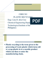 CHEE 583 Plastic Recycling