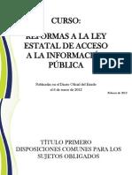 Reforma 2012 Aprobadas