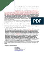 Sr. QS - Estimation & Contract Engineer