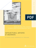 Livro Intellectuels, Artistes Et Militants - Intro