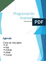 Programación avanzada - metodologías agiles.