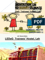 LEDeG  Trainees' Hostel, Leh