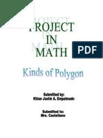 Mathematics project Elementary