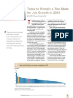 Texas to Remain a Top State for Job Growth in 2014swe1401b