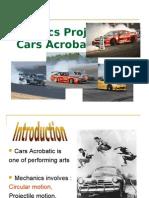 Circular motion in car acrobatics