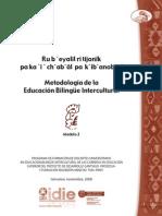 Metodología de la educación bilingue intercultural
