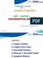 Math for CS