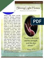 March Newsletter 2014 Shining Light Homes