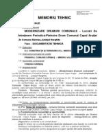 2-Memoriu Tehnic Caiet de Sarcini