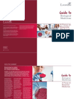 Guide to Biological Medicines a Focus on Biosimilar Medicines