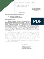 Taitz v Colvin Order by Judge Hollander 03.13.2014