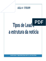 Aula 4 Lead e Estrutura Da Noticia