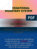 International Monetary System Coloured