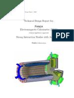 PANDA Electromagnetic Calorimeter (EMC)