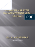Peranan Malaysia Dalam Menangani Isu Global
