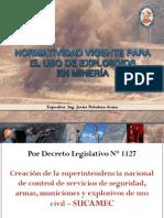 7 Normatividad Vigente Uso de Explosivos