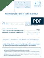 Esp s 2008 Questionnaires Ante