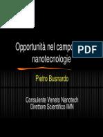Opportunita Nanotech