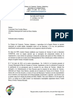 010- Carta Alcaldesa Turismo -2